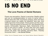 At Last There Is No End (The Love Poems of Daniel Romano) photo