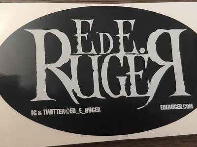 Ed E. Ruger Sticker main photo