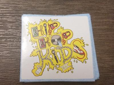 Hip Hop Kids Color Sticker main photo