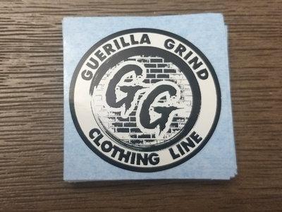 Guerilla Grind Clothing Line logo sticker main photo