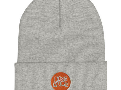 Beanie with logo - Black & Grey main photo