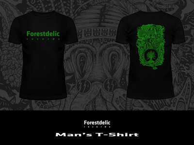 Man's T-Shirt (Black, green) main photo