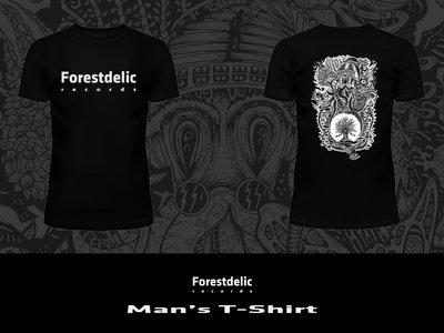 Man T-shirt (Black, white) main photo