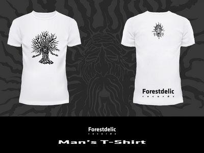 Man T-shirt (White, black) main photo