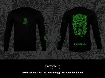 Man's Long sleeve (Black, green) main photo