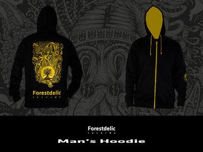 Man's Hoodie (Black, yellow) main photo