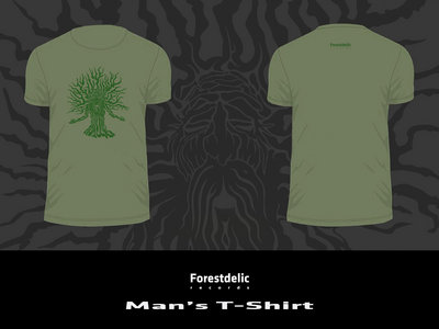 Man's T-shirt (Olive green, Dark green) main photo