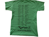 2011 US Tour T-Shirt Apple Green - YL photo