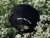 SNF Embroidered Cap - Black photo
