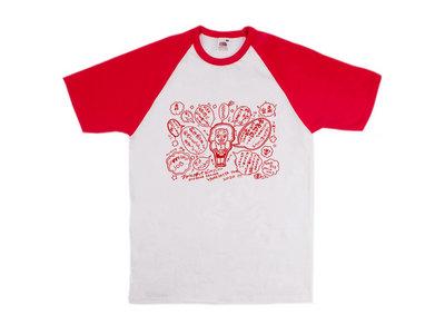 Otoboke Beaver Limited Edition 'YAMETATTA' Baseball/Ringer style Shirt main photo