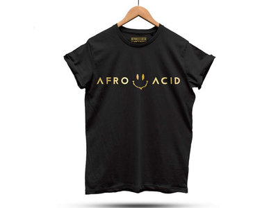 DJ PIERRE'S AFRO ACID T-SHIRT / BLACK main photo