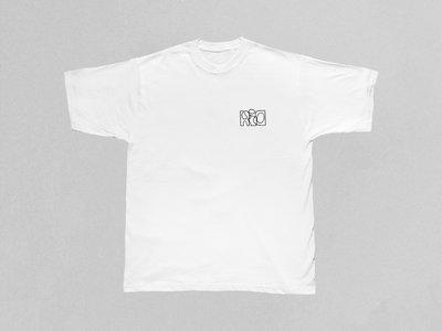 R.i.O. T-Shirt with embroidered Logo_B/W main photo