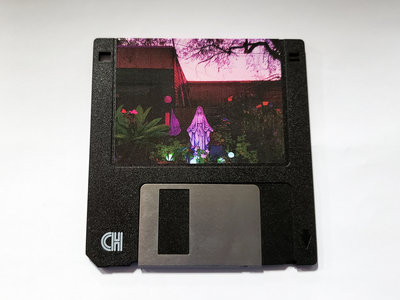 """FrankJavCee - I Love Hating You 3.5"""" FLOPPY DISK main photo"""