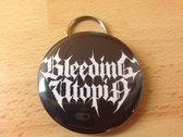 Bottle opener/key ring with logo photo