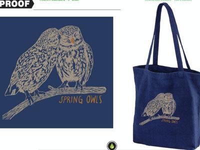 ECO Spring Owls Tote main photo