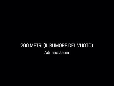 200 METRI (IL RUMORE DEL VUOTO) - PHOTOBOOK - CDr main photo