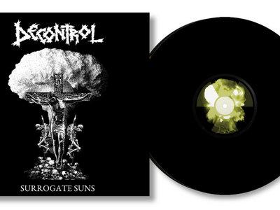 """Decontrol - Surrogate Suns 7"""" Black Vinyl main photo"""