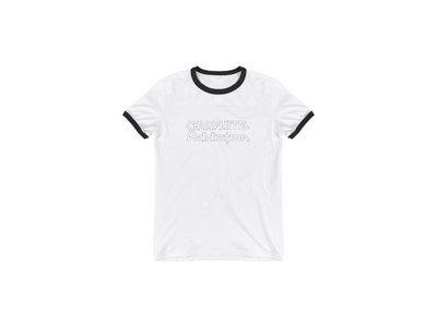 Graphite Addiction Sketch Logo Ringer T-Shirt main photo