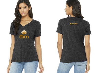 Om Records - 25 Years - Womens Shirt main photo