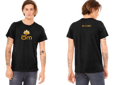 Om Records - 25 Years Mens Shirt main photo