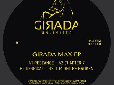 """Girada Max EP (12"""", Vinyl) main photo"""