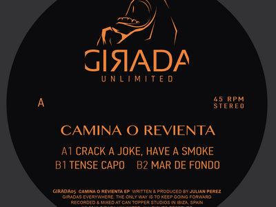 "Camina o Revienta EP (12"", Vinyl) main photo"