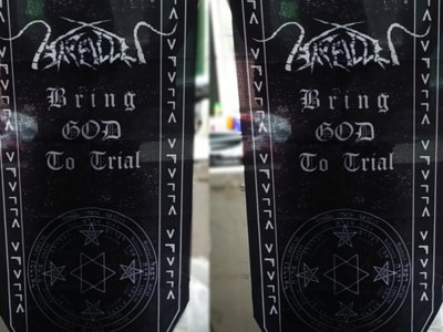 """""""Bring GOD To Trial""""  couple flags. main photo"""