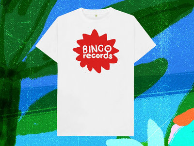 Bingo Records red logo T-shirt main photo