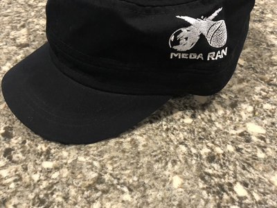 Mega Ran Logo Cadet Hat, Black main photo