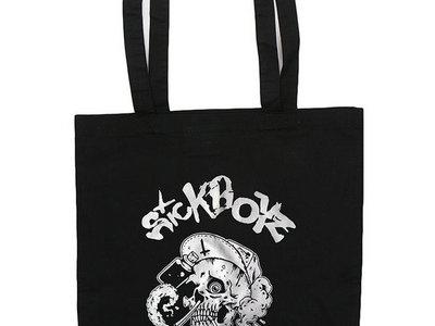 Skull Tote Bag Black main photo