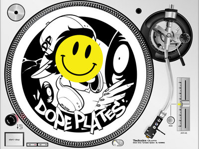 "Dope Plates ""Heater"" Slipmats *Ltd Edition* main photo"