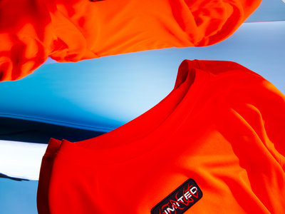 """""""Poly-Orange Longsleeve"""" main photo"""