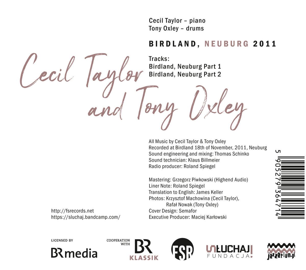 Birdland, Neuburg 2011 part 2 | Cecil Taylor & Tony Oxley | Fundacja Słuchaj