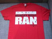 Monday Night Ran Shirts, Red, Black or Gray photo