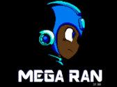 """Mega Ran """"8-bit Profile"""" T-Shirt photo"""