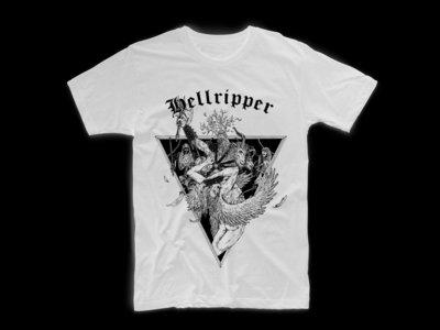 White 'Angel Ripper' T-Shirt (Size S - 2XL) main photo