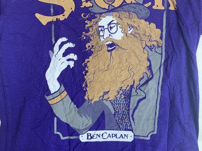 Old Stock Design Purple T-Shirt main photo