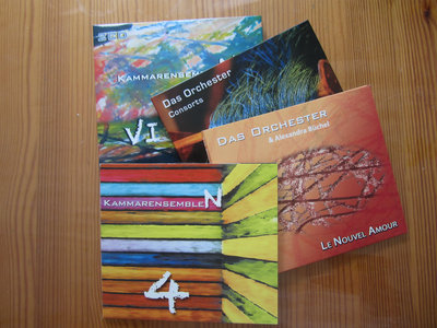 A Bundle of 4 CDs (incl. 1 double-CD): Swedish Contemporary Music main photo