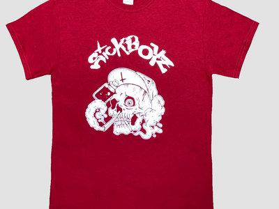 Skull T-Shirt Cherry Red main photo