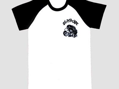Skull Raglan T-Shirt Black main photo
