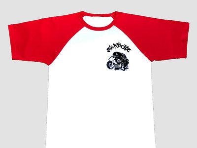Skull Raglan T-Shirt Red main photo