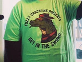 Toxic Green Swamp Shirt + Digital Album photo