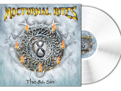 """Nocturnal Rites - The 8th Sin Limited Edition 12"""" White Vinyl main photo"""