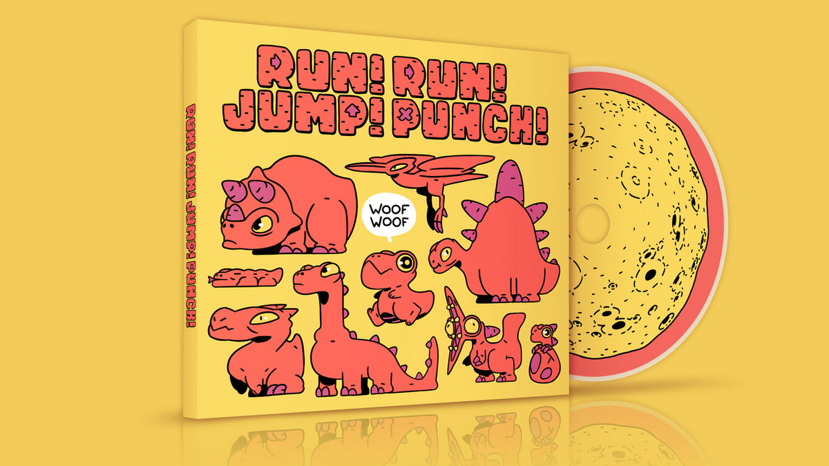 Woof Woof Run Run Jump Punch