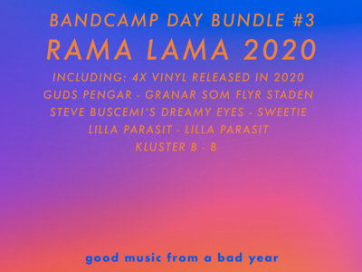 Bandcamp Day Bundle #3: Rama Lama 2020 main photo