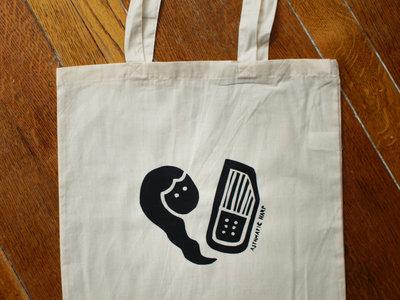 Hand printed Natural Cotton Tote Bag main photo