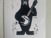 Leigh Folk Festival 2020 Linocut Print photo