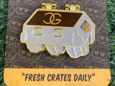 Fresh Crates Daily Enamel Pin main photo