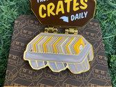 Fresh Crates Daily Enamel Pin photo