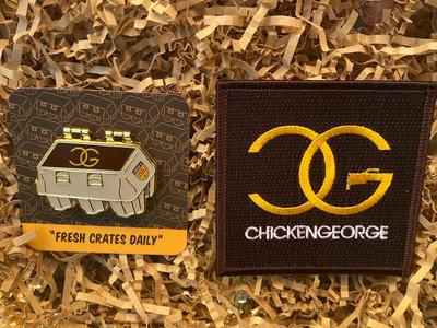 Fresh Crates Daily Pin + Patch Bundle main photo